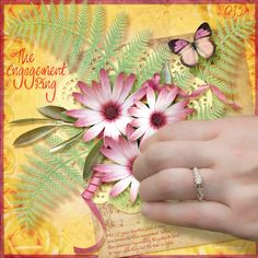 The Ring by Moog. Kit used: Flower Symphony http://scrapbird.com/designers-c-73/a-c-c-73_514/aadesigns-c-73_514_395/flower-symphony-kit-by-aadesigns-p-15176.html