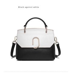 DikizFly New Women Bags High Quality PU Leather Women Top-Handle Bag ... 9c6db7f7e73d6