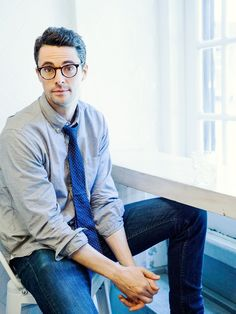 """NYC-based celebrity photographer Stephanie Diani photographed British actor Matthew Goode, currently seen in """"The Imitation Game,"""" for Backstage Magazine at The Egg Shop NYC last month. Goode stars opposite Benedict Cumberbatch in the Alan Turing biopic, and will also be appearing in """"Downton Abbey""""."""