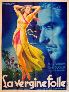 La Vierge Folle (1938) - Italian Two Foglio (Anselmo Ballester)