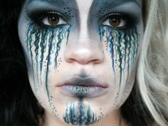 Mermaid makeup | Check out Make up Mouse for more beautiful makeup looks and tutorials ...