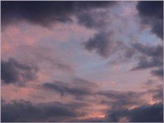 Himmel in Pastell bei Eva