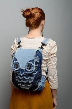 Шьем джинсовые сумочки. Идеи для вдохновения