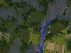 Mod The Sims - Grizzly Hills - Compact Mountain Neighbourhood