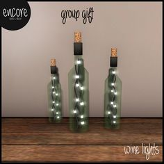 .encore. Wine Lights {group gift} | Flickr - Photo Sharing!