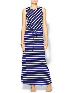 Hive & Honey Diagonal Stripe Maxi | Piperlime