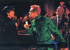 RARE 1995 FLEER ULTRA DC COMICS BATMAN MOVIE BOXING LESSON MINT