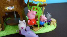 Peppa Pig English. Peppa, George and their friends go to visit YooHoo. G...