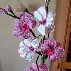 1000+ images about ? Crochet Knitted Orchids ? on ...