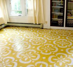 Design is... All in the Detail: Let's Paint the Floor