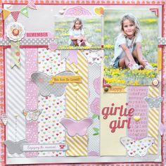Girlie Girl by Pam Callaghan - Scrapbook.com