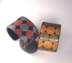 Cuff Bracelets by Hoedlgut, via Flickr