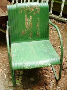 How to tell if metal furniture and decor is worth refinishing.