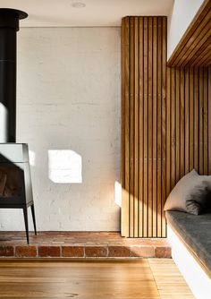 Based in Melbourne, Zen Architects specialise in contemporary, eco-friendly and sustainable architecture. Garden Architecture, Sustainable Architecture, Sustainable Design, Contemporary Architecture, Contemporary Design, Zen House, Brick Paving, Wooden Slats, Architect Design