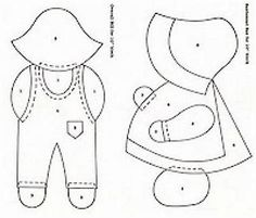 Image result for red work bonnet patterns