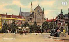 Bosjeskerk Rotterdam, Barcelona Cathedral, Mansions, House Styles, Ephemera, Building, Painting, Travel, Home Decor
