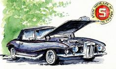 At the Cruise-inn, two weeks ago, I saw this rare Stutz Blackhawk 1971. One of…