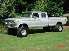 76 Ford Highboy Crew Cab