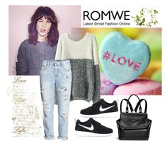 """""""Sweater"""" by woman-1979 ❤ liked on Polyvore featuring moda, H&M, NIKE y Givenchy"""