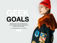 Geek chic never looked so good. Learn how to mix and match your prints like a pro in our new shoppable editorial. Aw17, Geek Chic, Mix N Match, Fashion Editorials, Editorial Fashion, Layers, Winter Hats, Geek Stuff, Goals