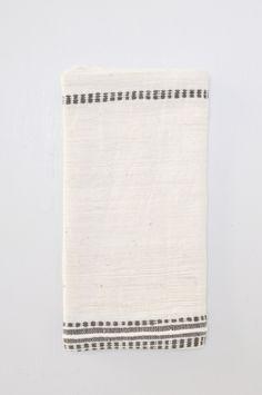 Stripe Napkin - Gray by Koromiko