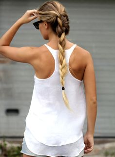 Perfect summer braid