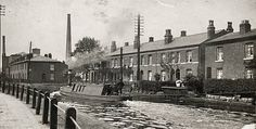 Bridgewater Canal, Salford City, Old Pictures, Past, Street View, Painting, Antique Photos, Past Tense, Painting Art