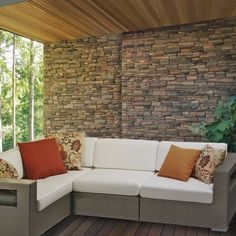 The 10 Tierra Deep Seating Sectional from Family Leisure is perfect for any patio! Outdoor Rooms, Outdoor Sofa, Outdoor Furniture, Outdoor Decor, Family Leisure, Be Perfect, Mid-century Modern, Mid Century, Couch