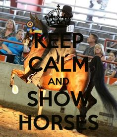 Keep calm and show/ride/love/hug horses! For @Pamela Hichens Sanders & @Kathryn Whiteside Michelle Sanders