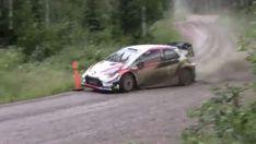 Bei perfektem Rallyewetter: Rovanperä testet Yaris WRC | addicted to motorsport