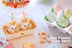 easter cake pops & cookies