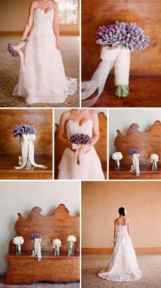 lavender bridesmaid bouquets?