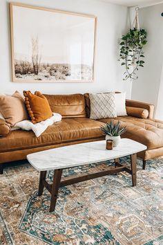 Boho Living Room Decor, Living Room Chairs, Home Living Room, Apartment Living, Living Room Designs, Boho Decor, Living Room With Plants, Living Room Styles, Budget Living Rooms