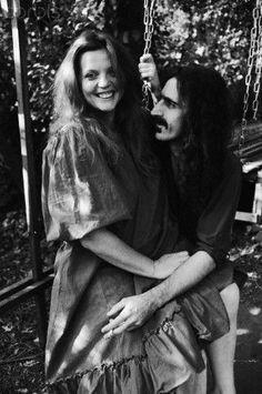 Gail & Frank Zappa, Laurel Canyon, 1967