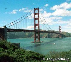 Golden Gate Bridge, San Fancisco CA - It is more than 1500 suicidal cases