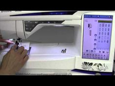 ▶ Husqvarna Viking Designer Diamond 33 Buttonholes - YouTube