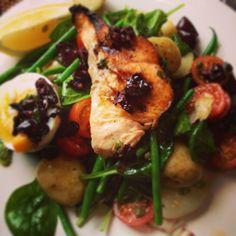 #healthy & tasty #salmon #nicoise #salad -  #glutenfree balanced #nutrition