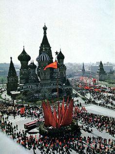Fuck Yeah Soviet Russia • fuckyeahsovietrussia: Demostration on the First...