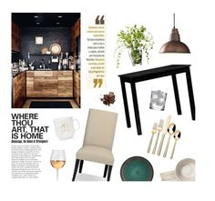 """""""Art, that is home."""" by vannyroxx ❤ liked on Polyvore featuring interior, interiors, interior design, home, home decor, interior decorating, Williams-Sonoma, Home Decorators Collection, Dot & Bo and Threshold"""