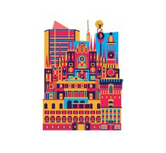 Urban Magazine/ Milano Illustration on Behance