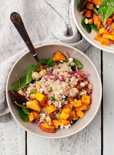 Simple Sweet Potato Quinoa Bowls / loveandlemons.com