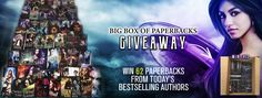 Big Box of Paperbacks Giveaway – Win a Mini Library with 62 #PNR and #UF #Books !