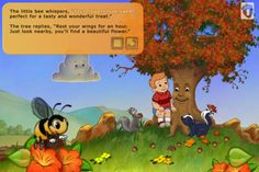 FREE app Oct 19 (reg 2.99) The Tree I See - Interactive Storybook