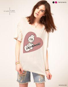 #fashion #neronera #tshirt #woman http://www.neronera.com/info/store/se-la-canta-e-se-la-suona