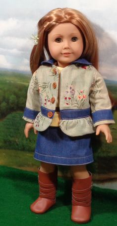 Jacket and Skirt for American Girl Doll