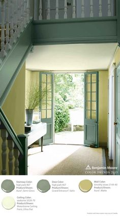 Benjamin moore everlasting what it looks like with white - Benjamin moore aura interior paint ...