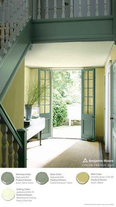 74 best entryway ideas images paint colors paint - Benjamin moore aura interior paint ...