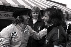 Jackie Stewart, Ronnie Peterson and Emerson Fittipaldi (Getty)