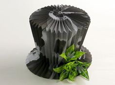 Make a Pleated Top Hat From Office Waste Paper | Inhabitat - Sustainable Design Innovation, Eco Architecture, Green Building