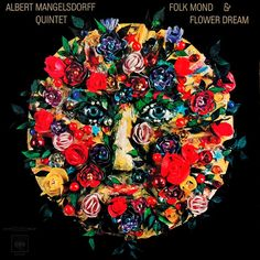 Günther Kieser, artwork for Albert Mangelsdorff Quintet - Folk Mond & Flower Dream, 1967